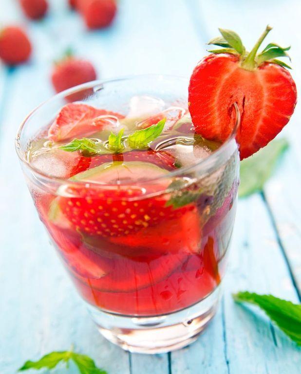 Cocktail mojito fraise