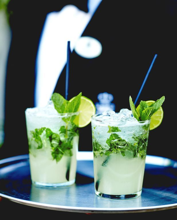 Cocktail mojito vodka