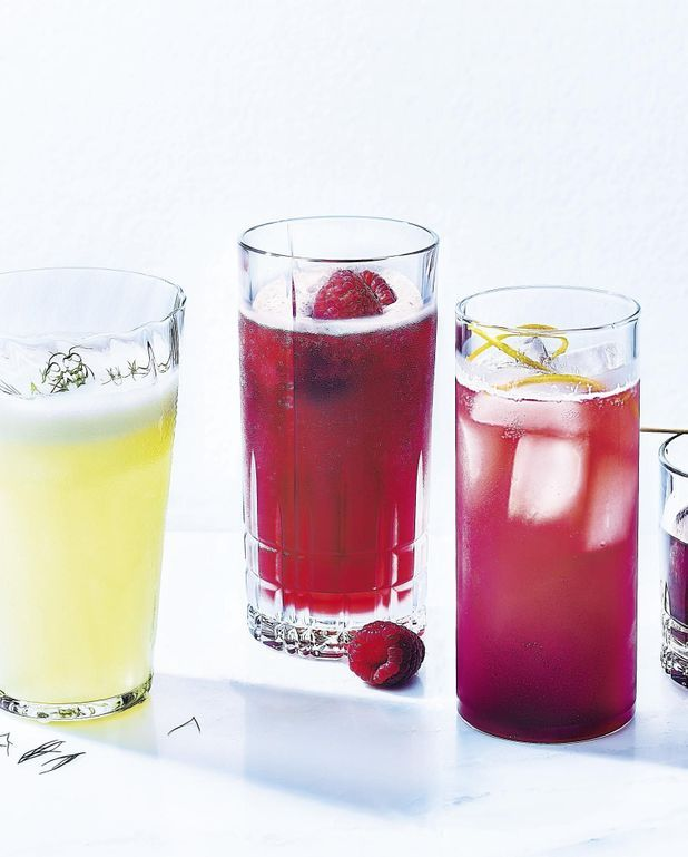 Cocktail rinquinquin et jus d'airelles