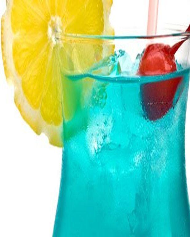 Cocktail schtroumpf