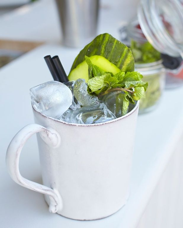 Cocktail sureau concombre