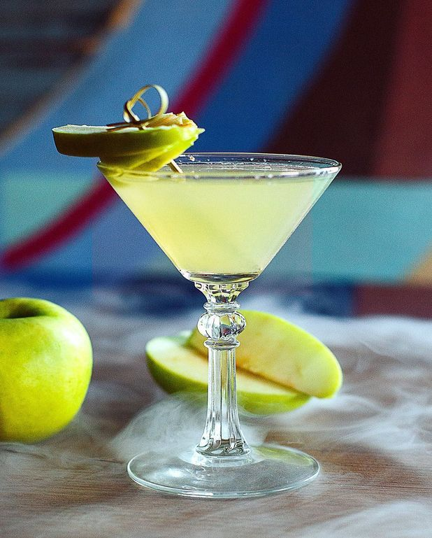 Cocktail Vodka tarte tatin