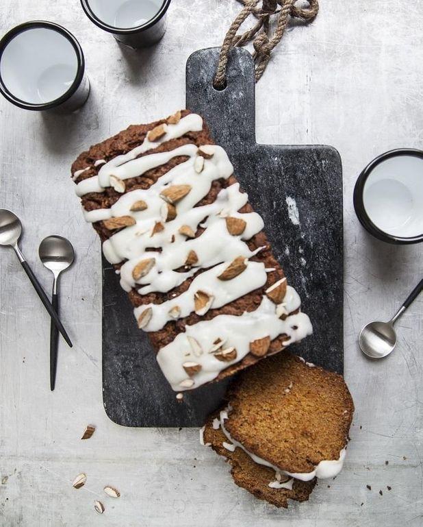 Coco carrot cake sans gluten