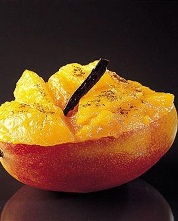Compote de mangue au gingembre