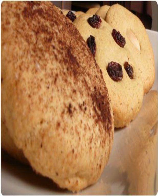 Cookies à la purée d'amande et huile d'olive