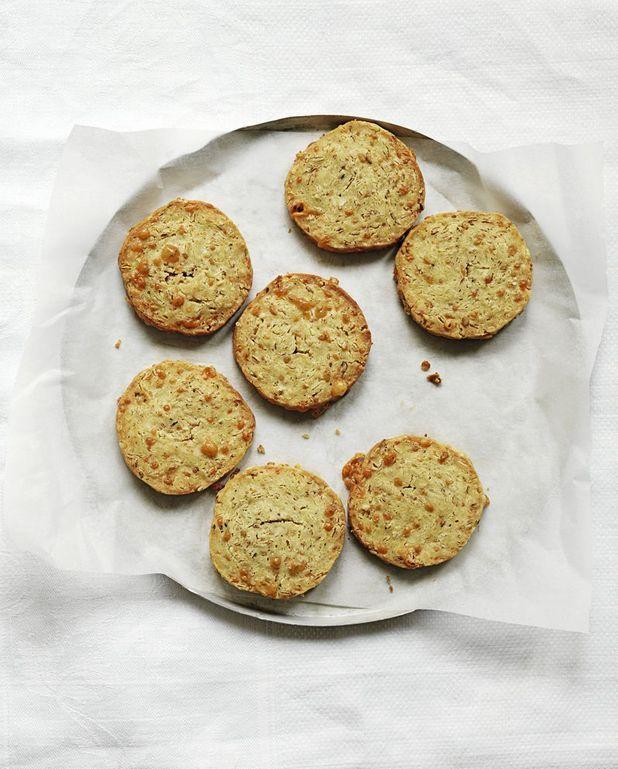 Cookies au bleu de Trish Deseine