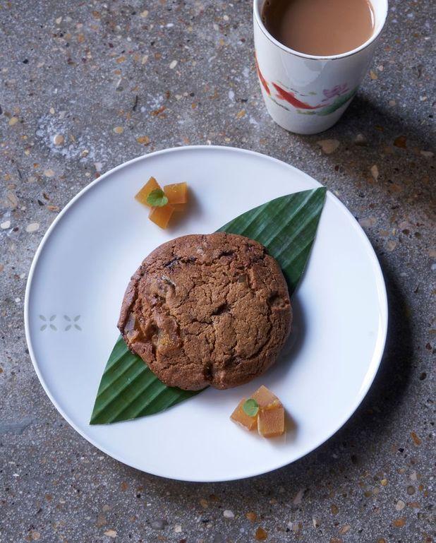 Cookies au gingembre confit