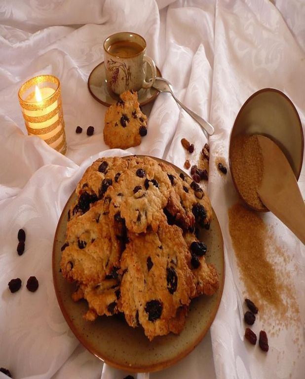 Cookies raisin et pépites de chocolat