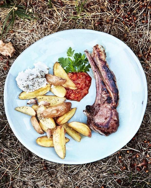 Côtelettes d'agneau grillées libanaises