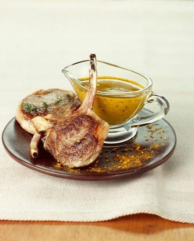 Côtes de porc à la marjolaine