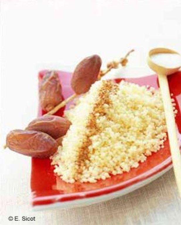 Couscous cannelle