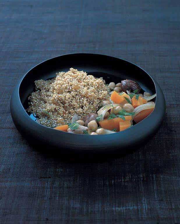 Couscous de légumes d'hiver au quinoa
