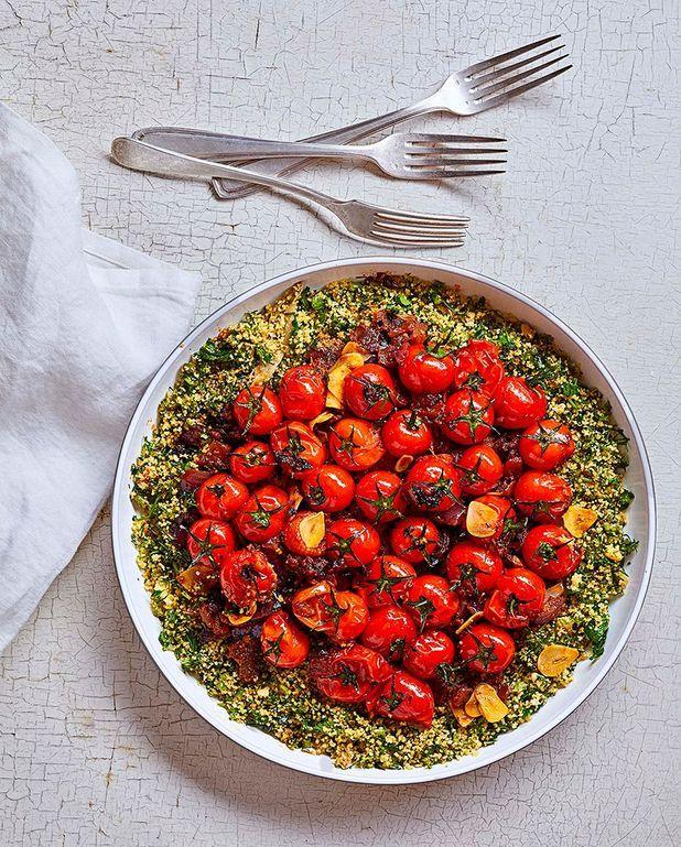 Couscous vert au paprika