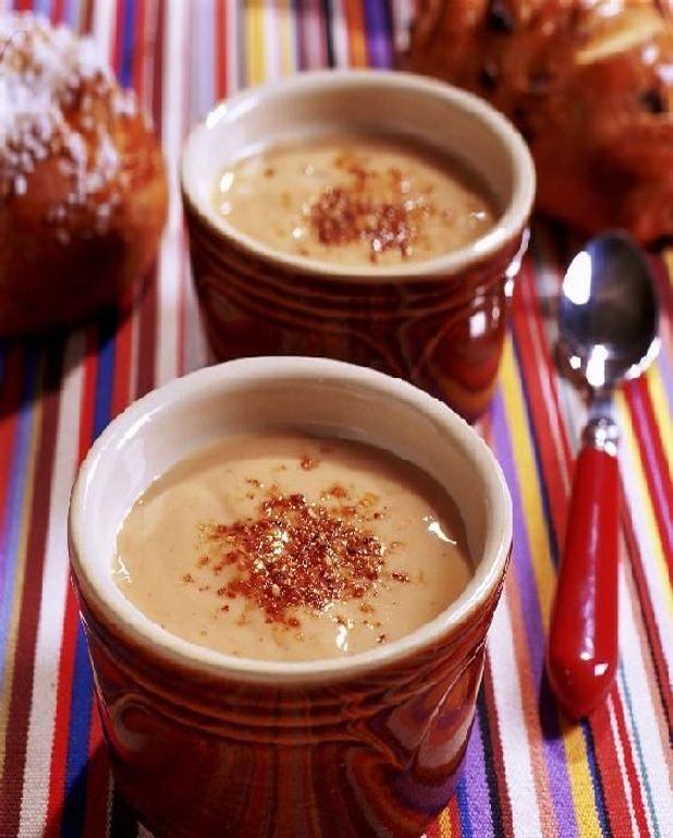 Crème brûlée à la crème de marrons