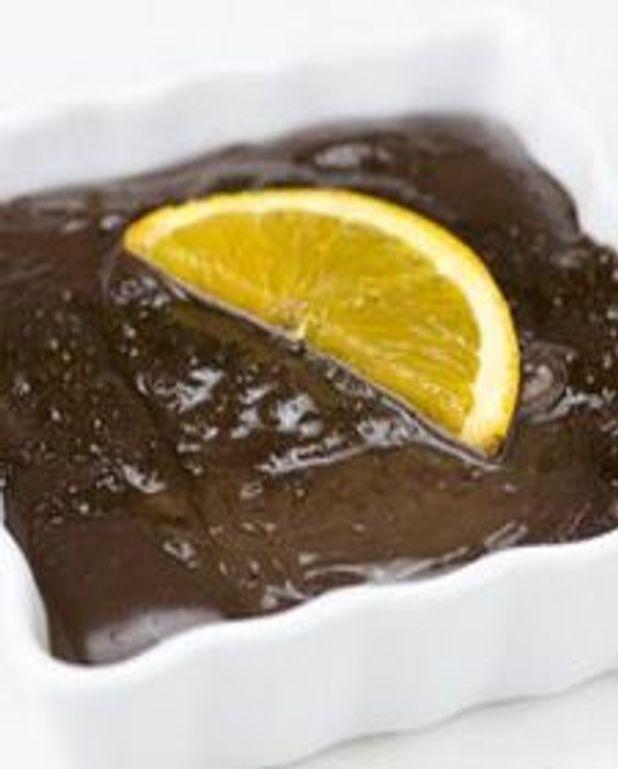 Crème brûlée au cacao et à l'orange