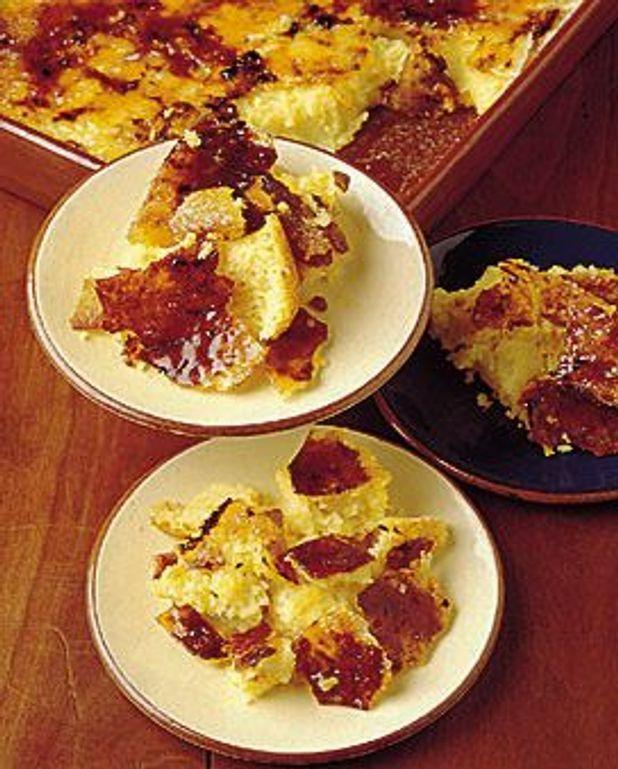 Crème brûlée au couscous