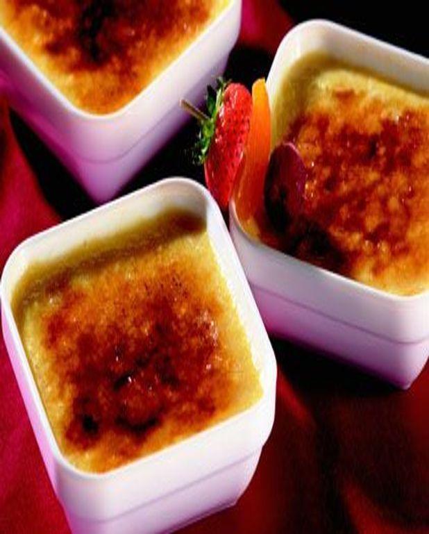 Crème brûlée au Floc de Gascogne Rouge