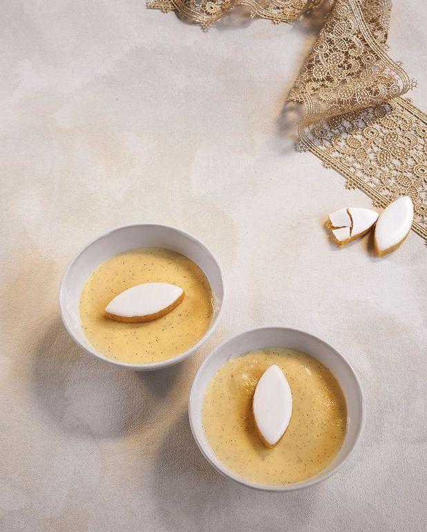 Crème catalane au calisson