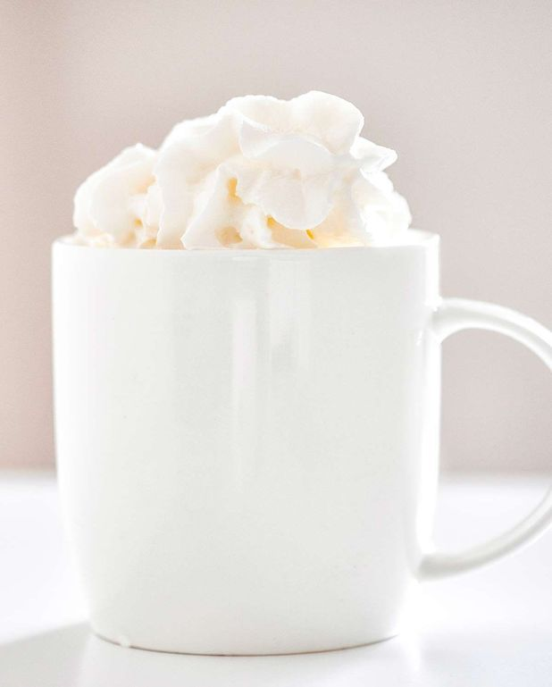Crème chantilly à la vanille