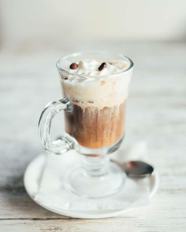 Crème chantilly au café