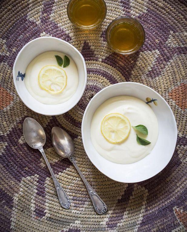 Crème de citron et fromage frais