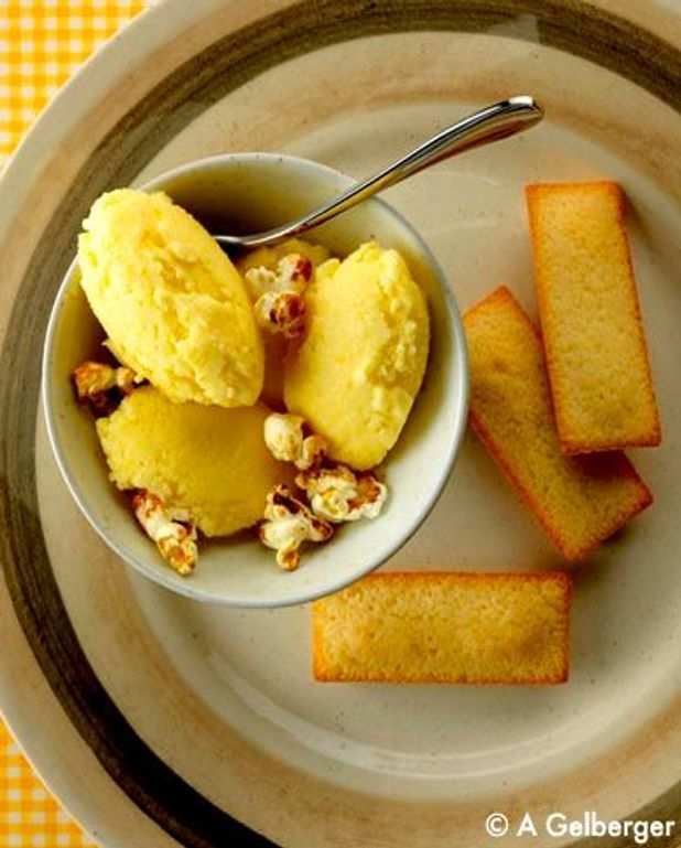 Crème glacée au maïs