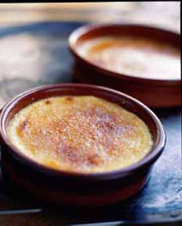 Crèmes brulées au parmigiano