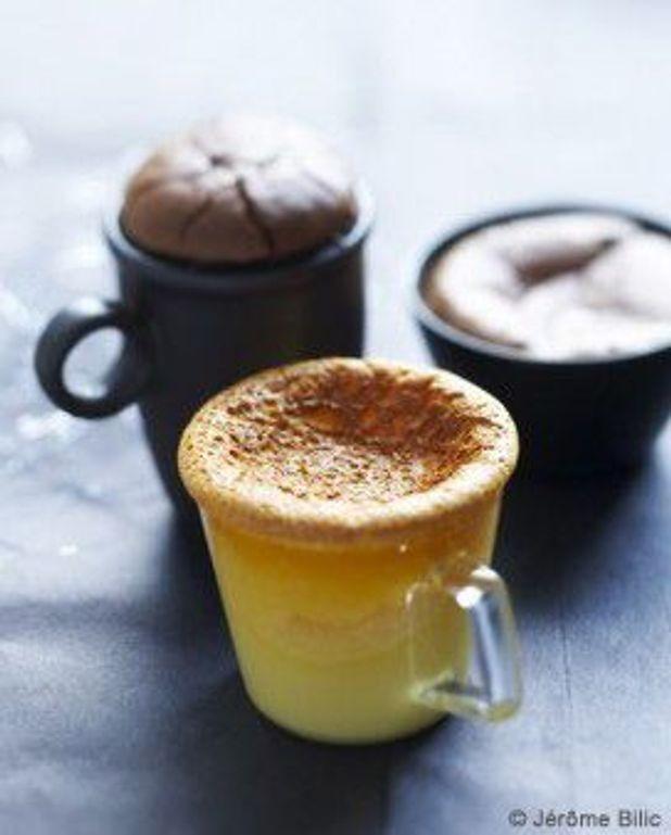 Crèmes vanille, Carambar ou chocolat