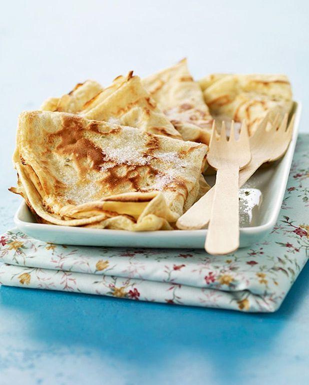 Crêpe aux pommes de terre et thon