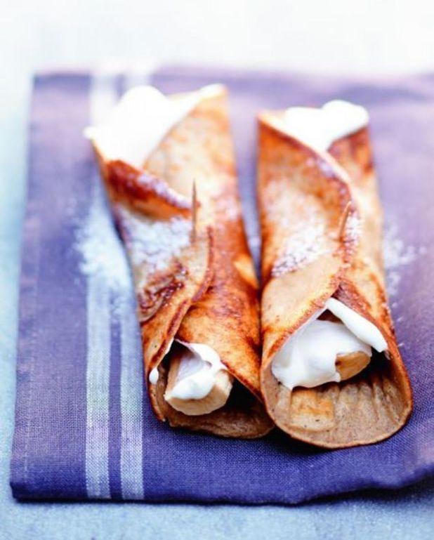 Crêpes bcc banane-chocolat-chantilly