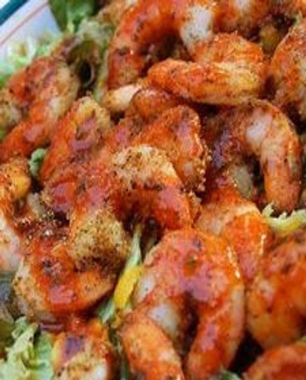 Crevettes à la noix de coco et au safran
