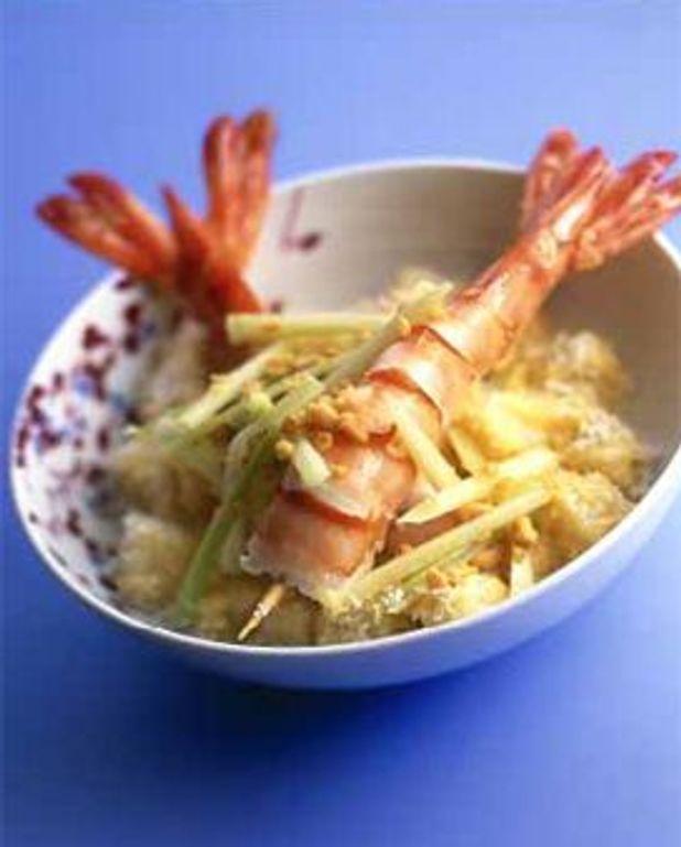 """Crevettes """"Pas comme à la cantine"""""""