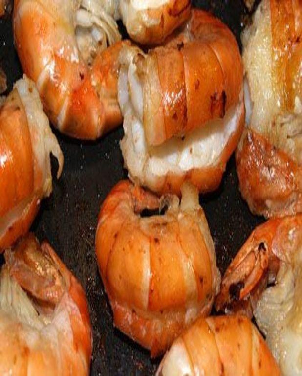 Crevettes rissolées