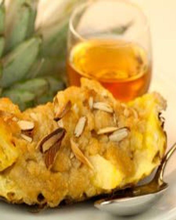 Croustade d'ananas originale