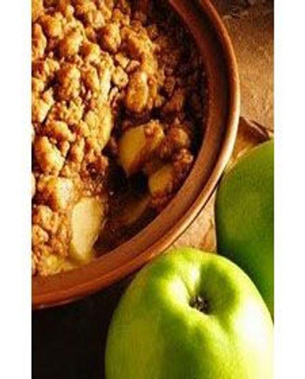 Croustade pommes et érable