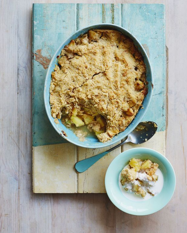Crumble aux pommes Thermomix