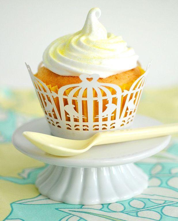 Cupcake au citron, glaçage citron