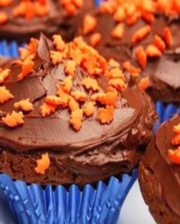 Cupcakes chocolat-chocolat