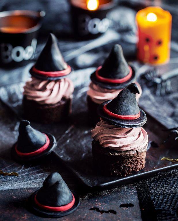 Cupcakes sorcières au chocolat
