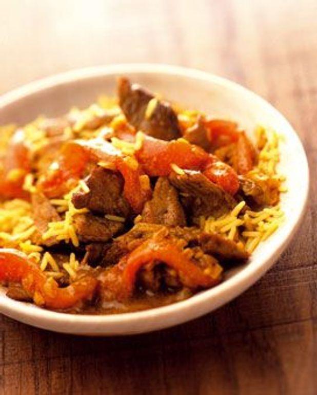 Curry d'agneau express