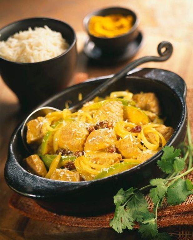 Curry de pintade au coco