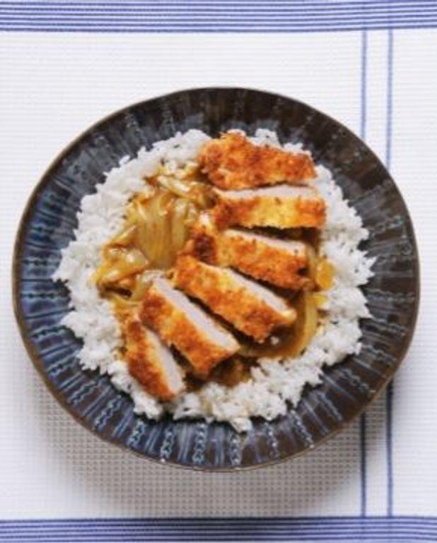 Curry de porc pané comme au Japon
