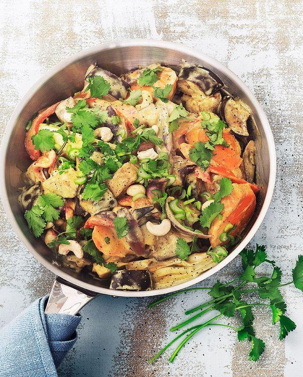 Curry végétal au lait de riz