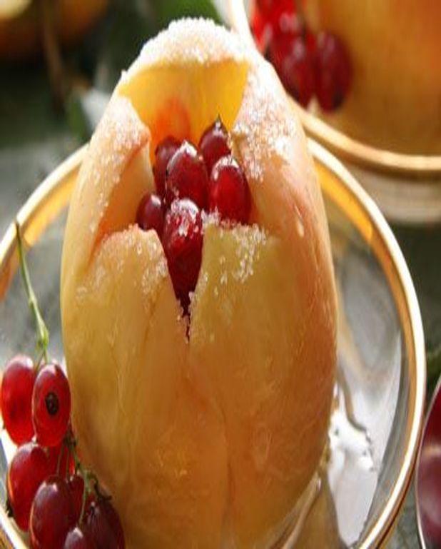 Délice de pomme aux groseilles