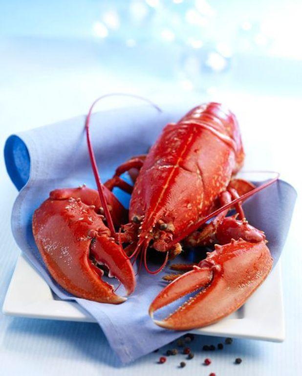Demi homard accompagné de quinoa et légumes de saison