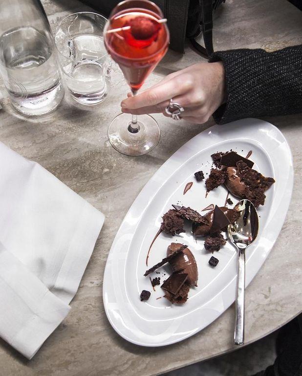 Dessert au chocolat Paineiras de Pierre Hermé