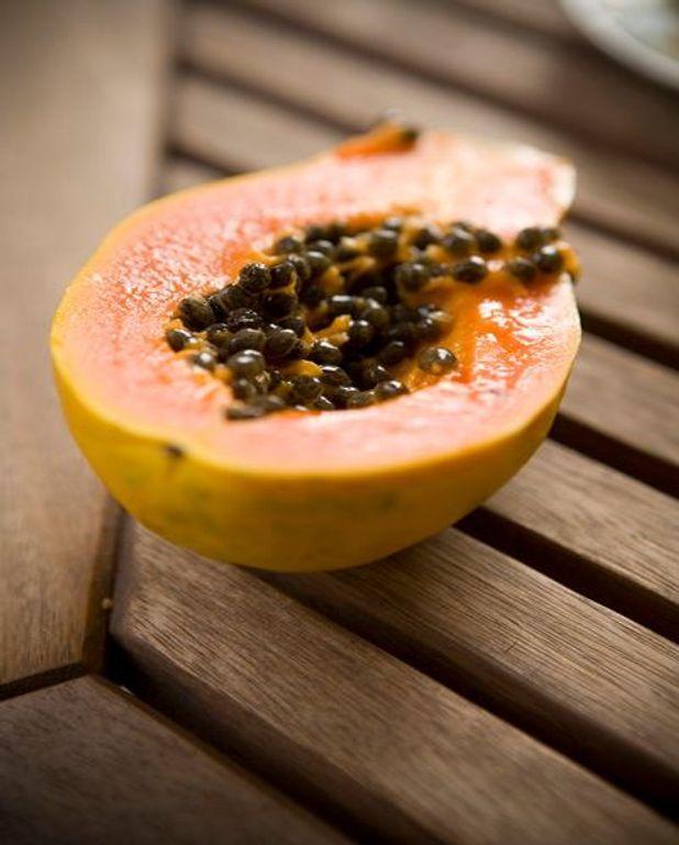 Poulet à la papaye et au lait de coco