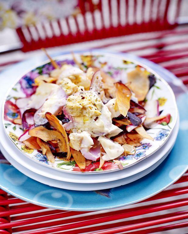 Egg salad légère
