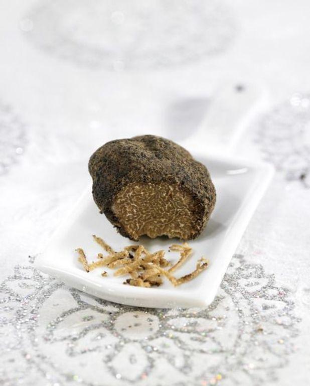 Emincé de faisan aux truffes