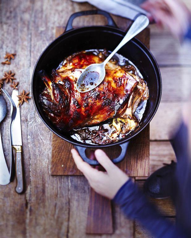 Épaule caramélisée au soja et épices